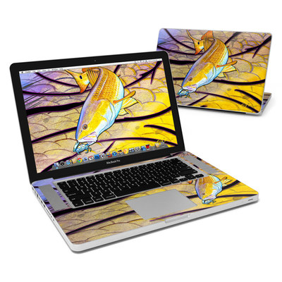 MacBook Pro 15in Skin - Red Fish