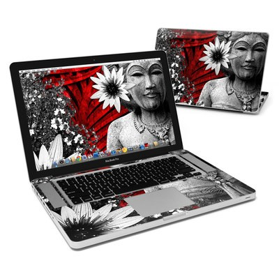 MacBook Pro 15in Skin - Red Island Radiance