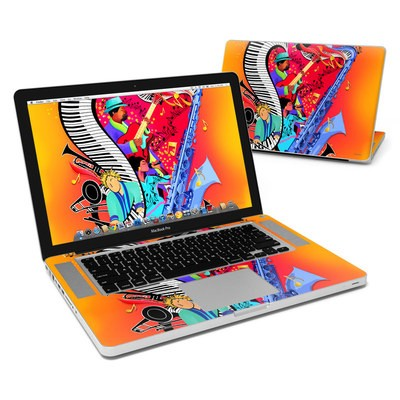 MacBook Pro 15in Skin - Red Hot Jazz