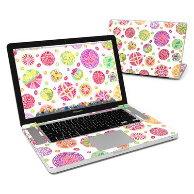 MacBook Pro 15in Skin - Round Flowers