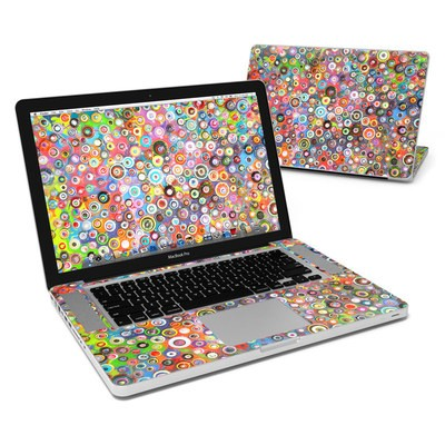 MacBook Pro 15in Skin - Round and Round
