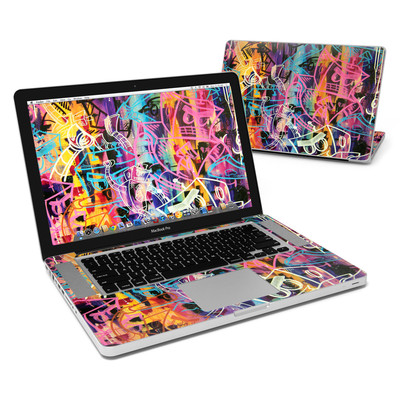 MacBook Pro 15in Skin - Robot Roundup