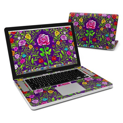 MacBook Pro 15in Skin - Rose Burst