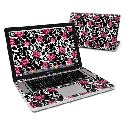 MacBook Pro 15in Skin - Rose Noir