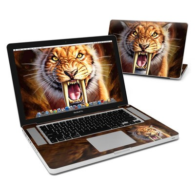 MacBook Pro 15in Skin - Sabertooth