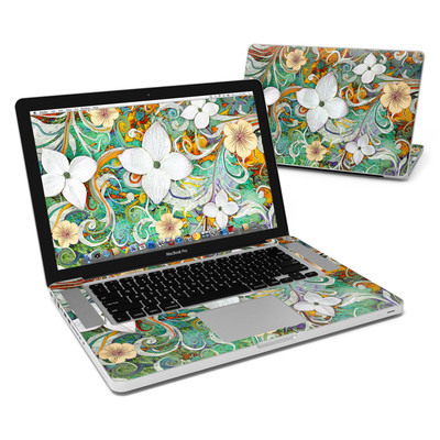 MacBook Pro 15in Skin - Sangria Flora