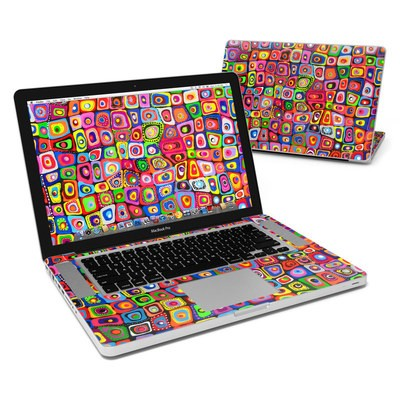 MacBook Pro 15in Skin - Square Dancing