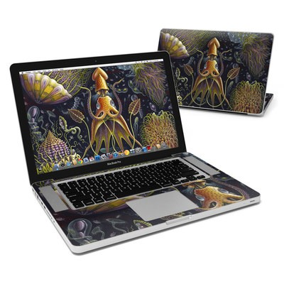 MacBook Pro 15in Skin - Sea Flowers