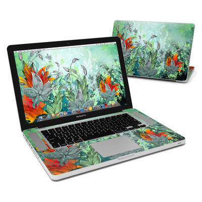 MacBook Pro 15in Skin - Sea Flora