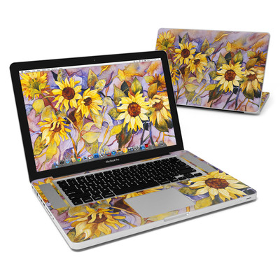 MacBook Pro 15in Skin - Sunflower