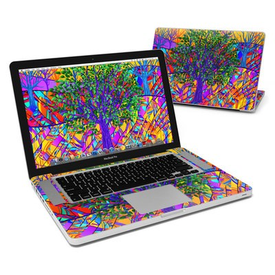 MacBook Pro 15in Skin - Stained Glass Tree