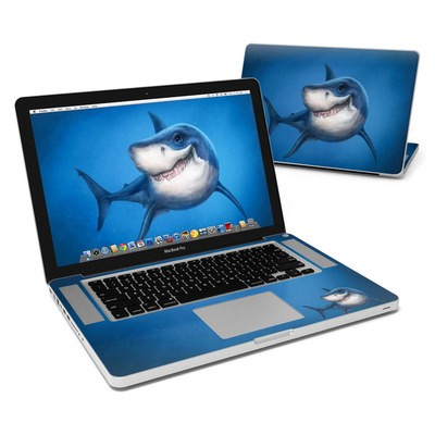 MacBook Pro 15in Skin - Shark Totem