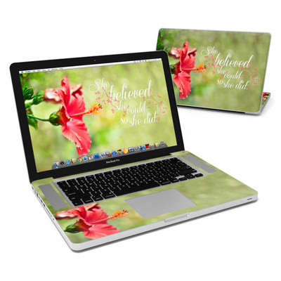 MacBook Pro 15in Skin - She Believed