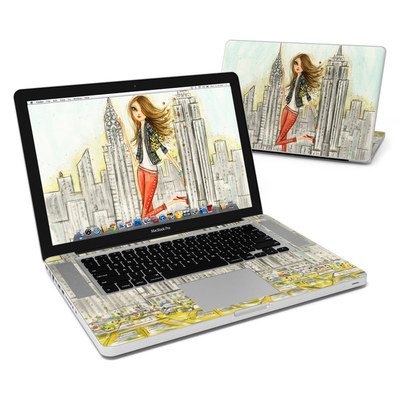 MacBook Pro 15in Skin - The Sights New York