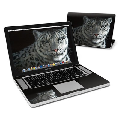 MacBook Pro 15in Skin - Silver Shadows