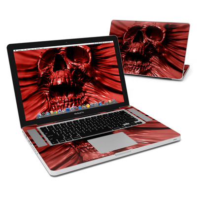 MacBook Pro 15in Skin - Skull Blood