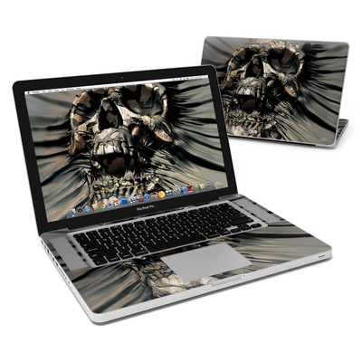MacBook Pro 15in Skin - Skull Wrap