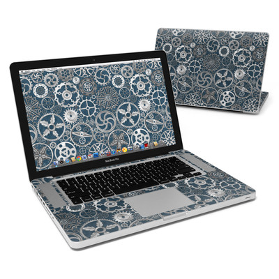 MacBook Pro 15in Skin - Silver Gears