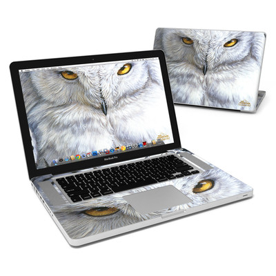 MacBook Pro 15in Skin - Snowy Owl