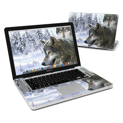 MacBook Pro 15in Skin - Snow Wolves