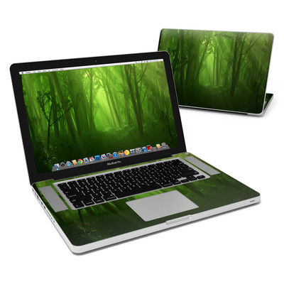 MacBook Pro 15in Skin - Spring Wood