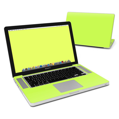 MacBook Pro 15in Skin - Solid State Lime
