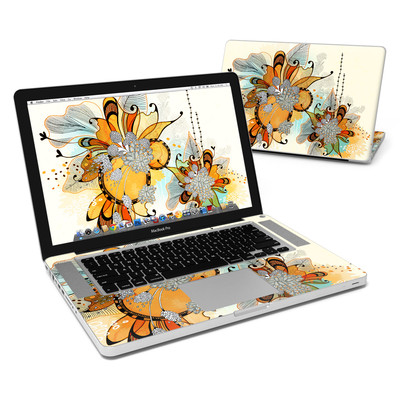 MacBook Pro 15in Skin - Sunset Flowers