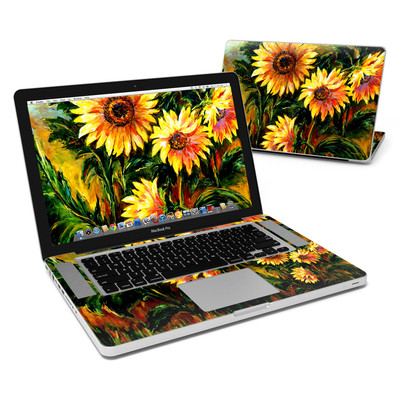 MacBook Pro 15in Skin - Sunflower Sunshine