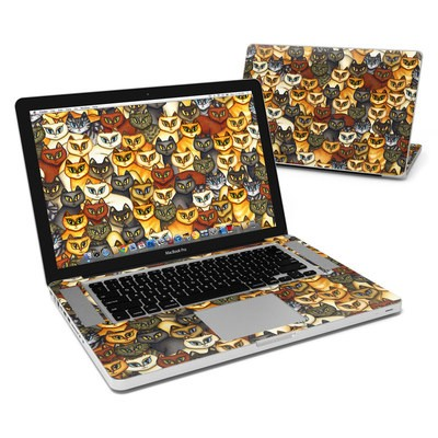 MacBook Pro 15in Skin - Stacked Cats