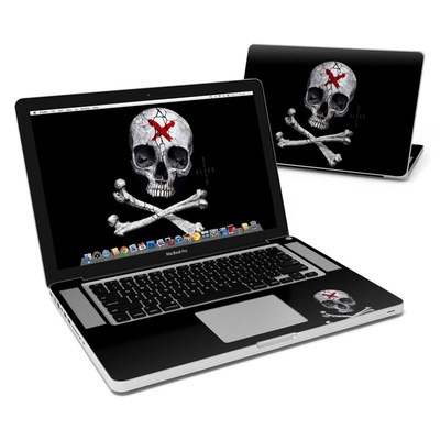MacBook Pro 15in Skin - Stigmata Skull