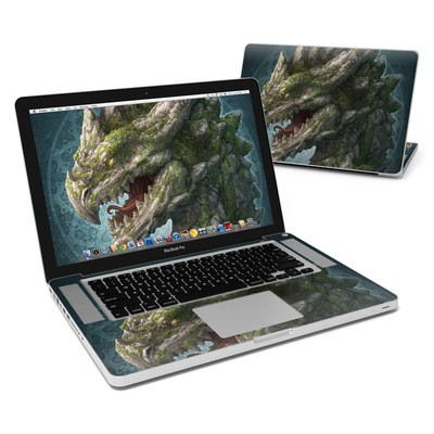 MacBook Pro 15in Skin - Stone Dragon