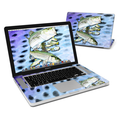 MacBook Pro 15in Skin - Striped Bass