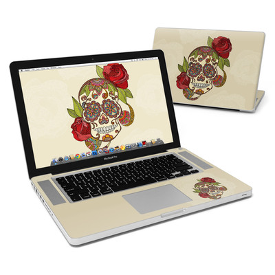 MacBook Pro 15in Skin - Sugar Skull