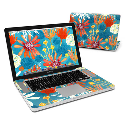 MacBook Pro 15in Skin - Sunbaked Blooms