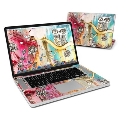 MacBook Pro 15in Skin - Surreal Owl