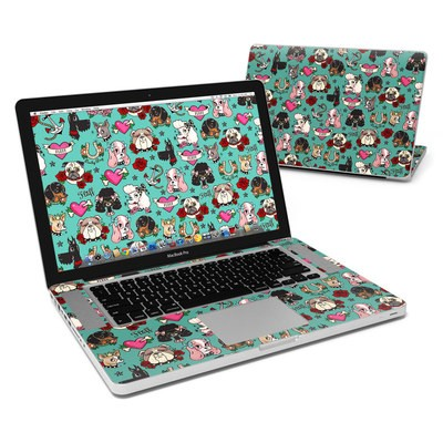 MacBook Pro 15in Skin - Tattoo Dogs