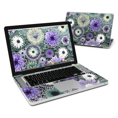 MacBook Pro 15in Skin - Tidal Bloom