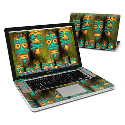 MacBook Pro 15in Skin - Tiki Abu