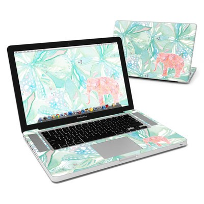 MacBook Pro 15in Skin - Tropical Elephant