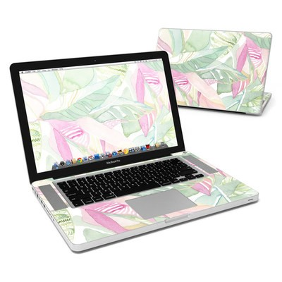 MacBook Pro 15in Skin - Tropical Leaves