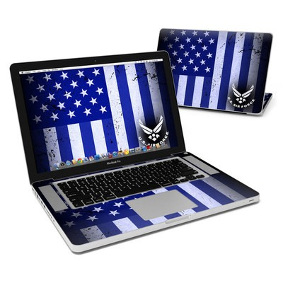 MacBook Pro 15in Skin - USAF Flag