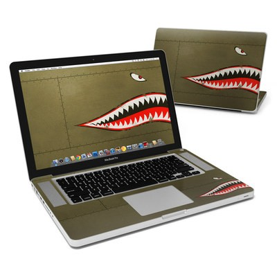 MacBook Pro 15in Skin - USAF Shark