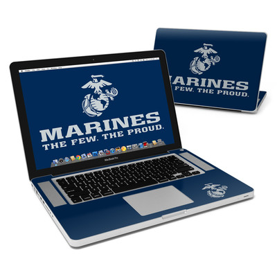 MacBook Pro 15in Skin - USMC Blue