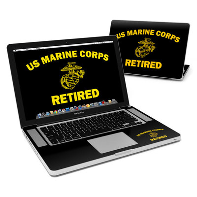 MacBook Pro 15in Skin - USMC Retired