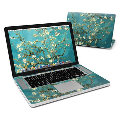 MacBook Pro 15in Skin - Blossoming Almond Tree