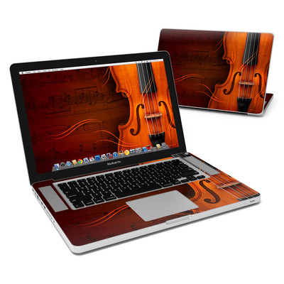 MacBook Pro 15in Skin - Violin