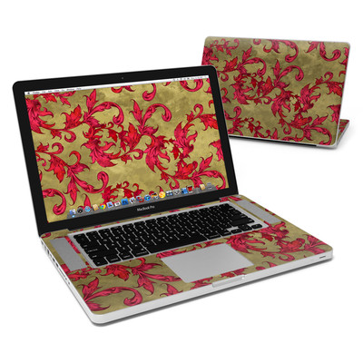 MacBook Pro 15in Skin - Vintage Scarlet