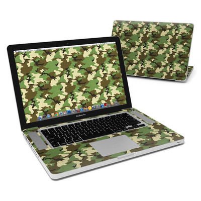 MacBook Pro 15in Skin - Woodland Camo