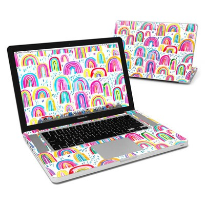 MacBook Pro 15in Skin - Watercolor Rainbows