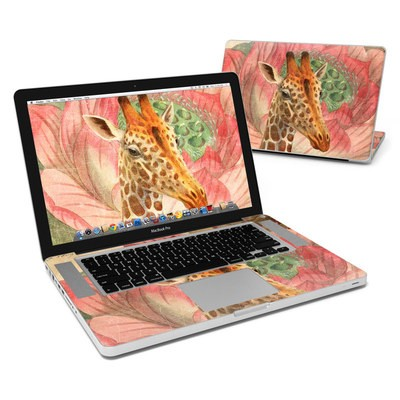 MacBook Pro 15in Skin - Whimsical Giraffe